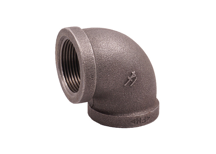 1/2 Npt Malleable Iron Elbow Threaded Pipe Connectors 1.6Mpa Working Pressure
