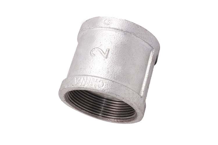 Threaded Malleable Iron Pipe Fittings High Strength With Smooth Surface